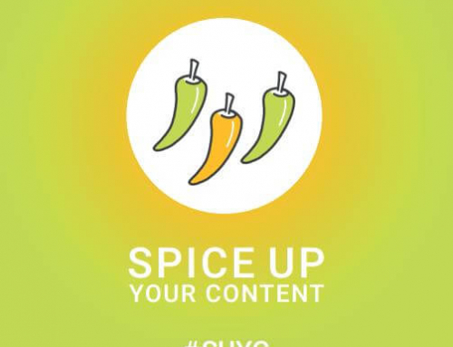 #SUYC – SPICE UP YOUR CONTENT !
