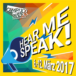 hear me speak campixx week