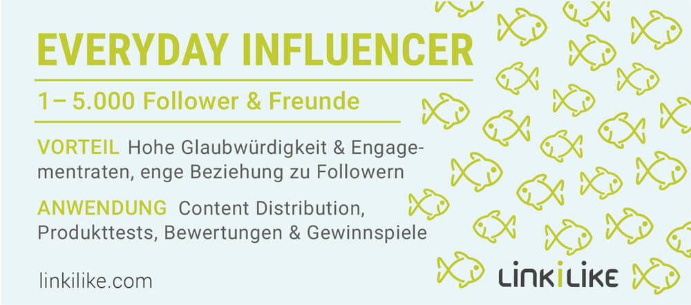 Everyday Influencer: 1-5.000 Follower & Freunde