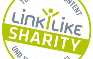 Sharity Spenden mit Linkilike