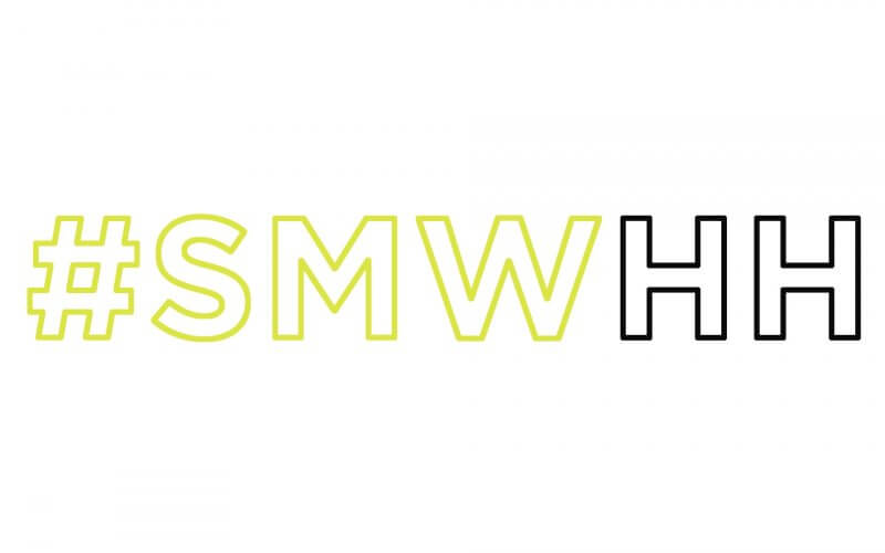 Logo der Social Media Week in Hamburg