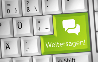Weitersagen Social Media Marketing das ankommt