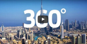 Dubai 360 grad video